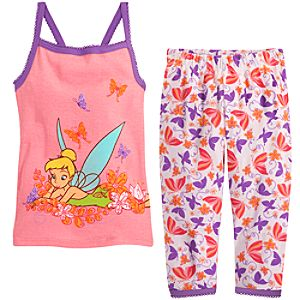 Cami Tinker Bell PJ Pal for Girls