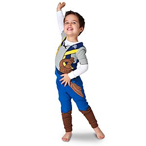 Jake and the Never Land Pirates Jake Deluxe Costume PJ Pal for Boys