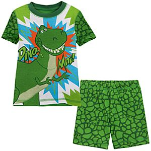 Short Toy Story Rex PJ Pal for Boys