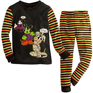 Halloween Mickey Mouse PJ Pal for Boys