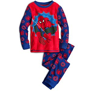 Long Sleeve Spider-Man PJ Pal for Boys