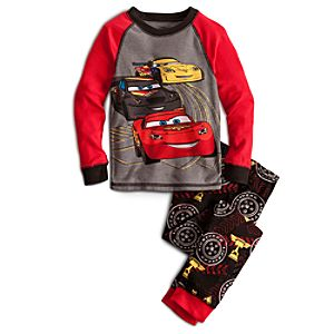 Long Sleeve Cars PJ Pal for Boys