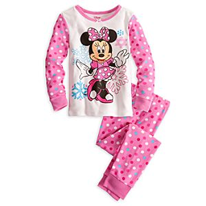 Long Sleeve Minnie Mouse PJ Pal for Girls