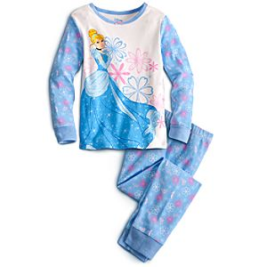 Long Sleeve Cinderella PJ Pal for Girls