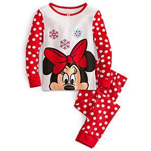 Minnie Mouse PJ Pal for Girls - Holiday