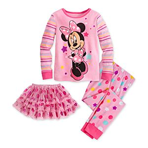 Minnie Mouse Deluxe PJ Pal for Girls