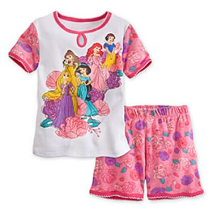 Disney Princess PJ Pal Shorts Set for Girls