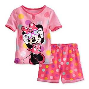 Minnie Mouse PJ Pal Shorts Set for Girls