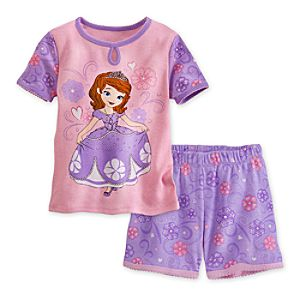 Sofia PJ Pal Shorts Set for Girls