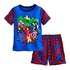 The Avengers PJ Pal Shorts Set for Boys