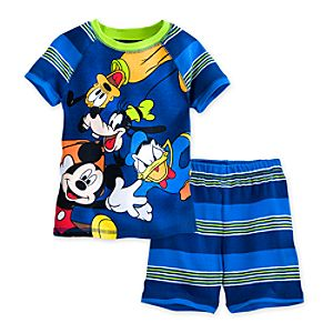Mickey Mouse and Friends PJ Pal Shorts Set for Boys