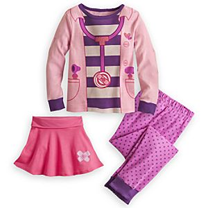 Doc McStuffins Sleep Set for Girls