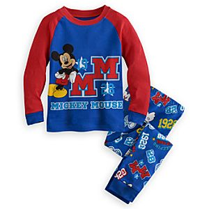 Mickey Mouse 1928 PJ Pal for Boys