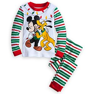 Mickey Mouse and Pluto PJ Pal for Boys - Holiday