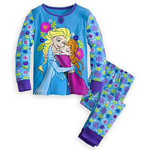 Anna and Elsa PJ Pal for Girls