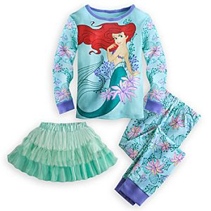 Ariel Deluxe PJ PALS and Tutu Set for Girls