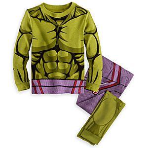 Hulk Costume PJ PALS for Boys - Marvels Avengers: Age of Ultron