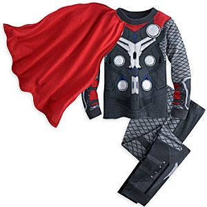 Thor Costume PJ PALS for Boys - Marvels Avengers: Age of Ultron