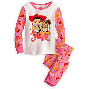 Jessie and Bullseye PJ Pal for Girls