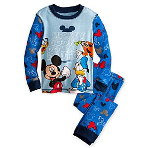 Goofy, Donald Duck and Mickey Mouse PJ Pal for Boys