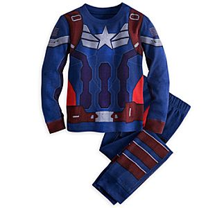 Captain America Deluxe PJ Pal for Boys