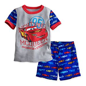 Cars PJ Pal Shorts Set for Boys