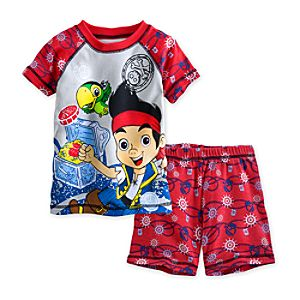 Jake and the Never Land Pirates PJ Pal Shorts Set for Boys