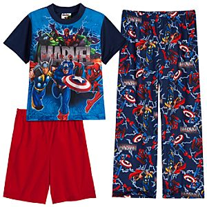 Marvel Superheroes PJ Pal Set -- 3-Pc.