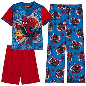 Spider-Man PJ Pal Set -- 3-Pc.