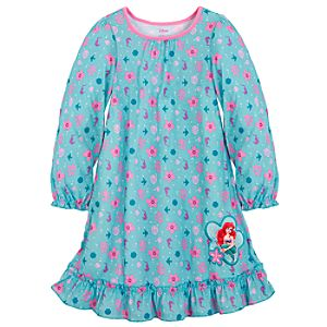 Ruffled Ariel Nightshirt for Girls