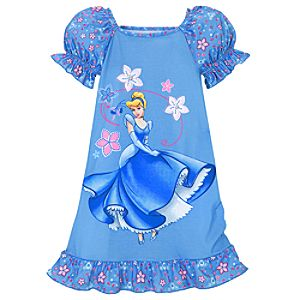 Dancing Cinderella Nightshirt for Girls