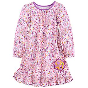 Ruffled Rapunzel Nightshirt for Girls