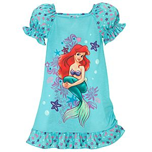 Under the Sea Ariel Nightshirt for Girls