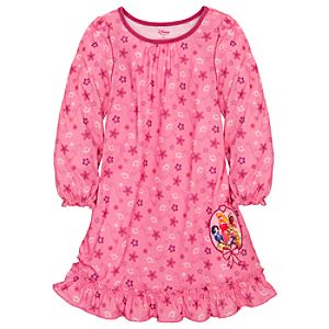 Ruffled Disney Princess Nightshirt for Girls