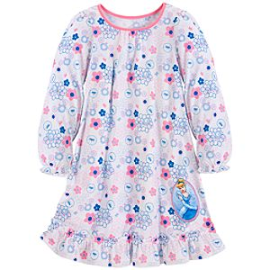 Ruffled Cinderella Nightshirt for Girls