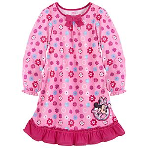 Ruffled Minnie Mouse Nightshirt for Girls