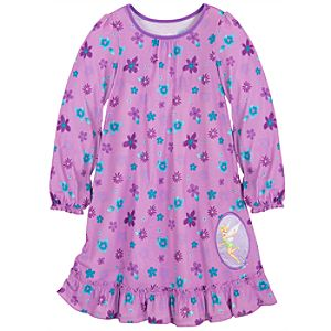 Ruffled Tinker Bell Nightshirt for Girls