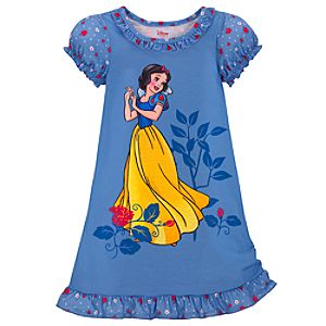 Blue Snow White Nightshirt for Girls
