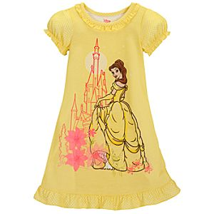 Yellow Belle Nightshirt for Girls