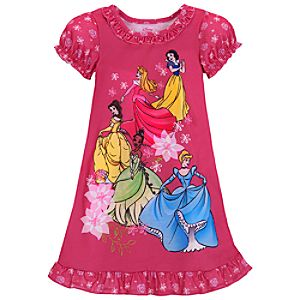 Pink Disney Princess Nightshirt for Girls