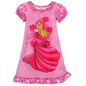 Pink Aurora Nightshirt for Girls