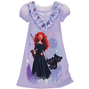 Brave Merida Nightshirt for Girls