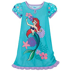 Seashore Ariel Nightshirt for Girls