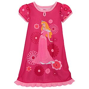 Floral Aurora Nightshirt for Girls