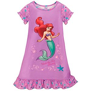 Seashell Ariel Nightshirt for Girls