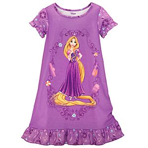 Rapunzel Nightshirt for Girls