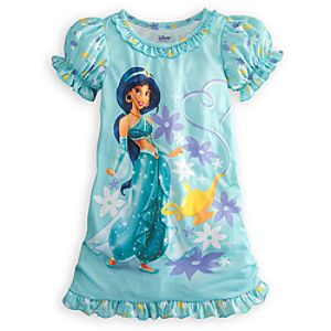 Ruffled Jasmine Nightshirt for Girls
