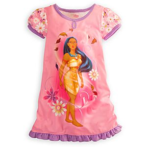 Pocahontas Nightshirt for Girl