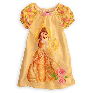 Raglan Puff Sleeve Belle Nightshirt for Girls