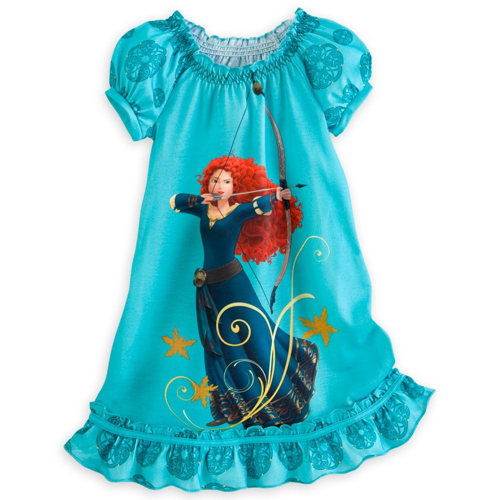 Merida Nightshirt for Girls